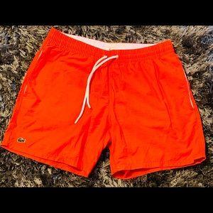 Men's Lacoste swim trunks